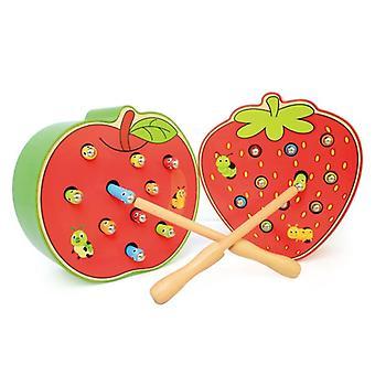 Jordbær 3d Puslespil Baby Træ Tidlig Pædagogisk Magnetisk Matematik