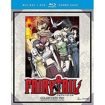 Fairy Tail: Collection Tien [Blu-ray] USA import