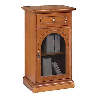 Puerta de teléfono clásica con vidrio