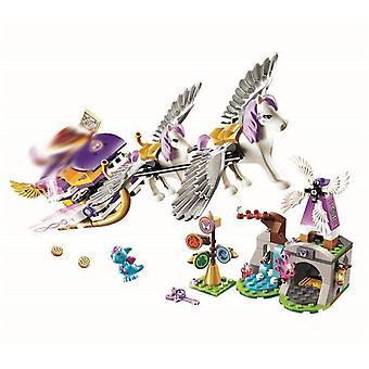 Nové Elfovia Dragon Séria Fit Elfovia víla priateľ víla blok tehly toy Diy deti
