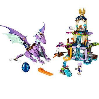 Fairy Elves The Goblin King's Evil Dragon Building Blocks Toy Sets