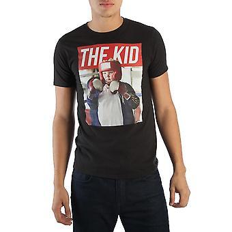 Bad santa the kid black shirt for men