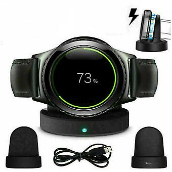 Wireless Charging Dock Cradle Smart Watch Charger For Samsung Galaxy