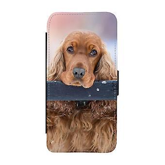 Hund Cocker Spaniel iPhone 12 Mini Plånboksfodral
