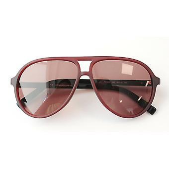 Karl Lagerfeld Matte Purple Womens Plastic UV Shades Zonnebril KL792S 066 A189B