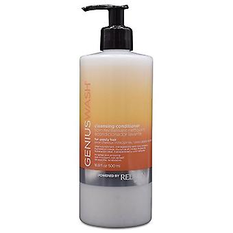 Redken Genius Wash Cleansing Conditioner 500ml - For Unruly Hair