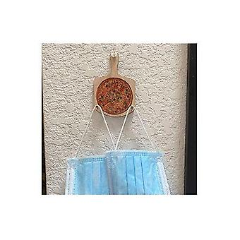 Pizza Ornamental Mask Holder #t205