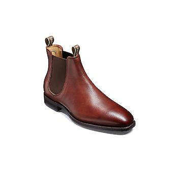 Barker Mansfield - Cherry Grain - 11 | Mens Handmade Leather Chelsea Boots | Barker Shoes