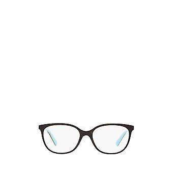 Tiffany TF2168 havana / blue female eyeglasses