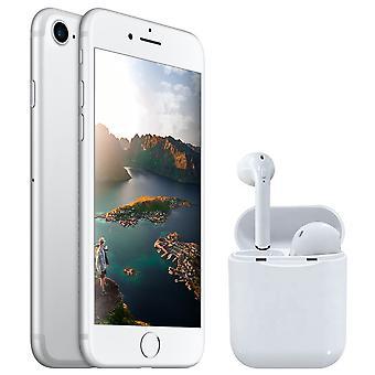 iPhone 7 Silver 128GB + Wireless Kopfhörer