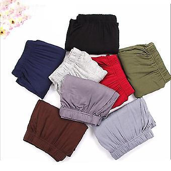Home Sleepwear Interior Sleep Bottoms Men's Cotton Boxers Pajama Short Trousers