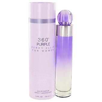 Perry Ellis 360 violetti Eau De Parfum Spray Perry Ellis 3,4 oz Eau De Parfum Spray