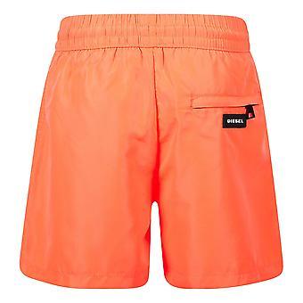 Short de plage orange diesel garçons j00183-0bcay k435