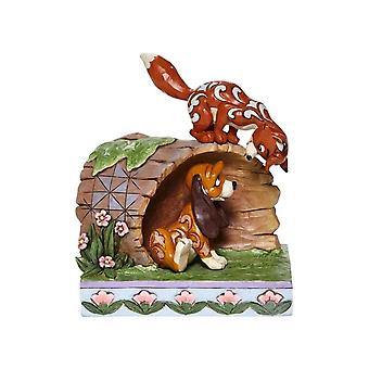Disney Traditions The Fox and the Hound 'Unlikely Friends' Figurine