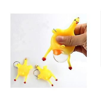 Funny New Peculiar Toy Laying Hens Squeezing The Laying Hens Creative Vent