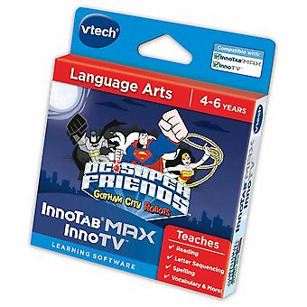 Vtech innotab max dc super friends  language arts learning software