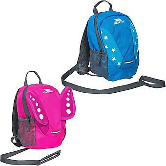 Trespass Unisex Childrens Tiddler 3L Novelty Rucksack Backpack Bag With Reins