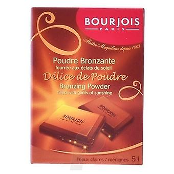 Bourjois Paris Delice De Poudre Polvo Bronceador Clair Mediane