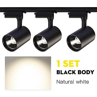 Whole Set Led Track Light 12w 20w 30w 40w 220v Modern Cob Track Lights Lamp