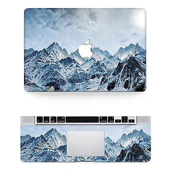 Textur Laptop Körper Aufkleber schützende Haut Vinyl Wind Design Aufkleber