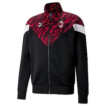 2020-2021 AC Milan Ikoninen MCS-graafinen takki (punainen)
