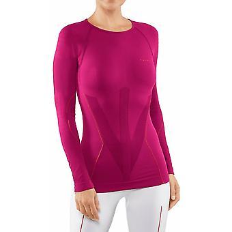 Falke Warm Tight Tight Fit Koszula z długim rękawem - Berry Pink