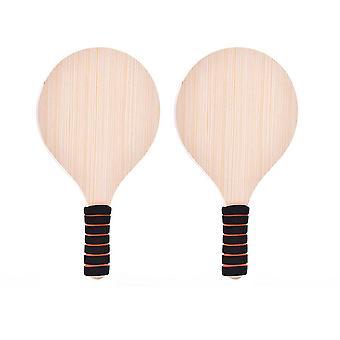 Holzschläger Badminton Tennis Fledermaus