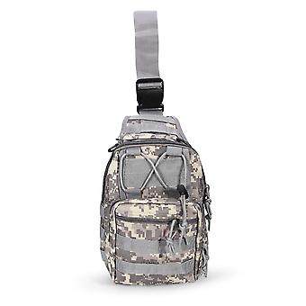 Outdoor Camouflage Shoulder Military Bags, Sports Climbing, Tactical Hiking,