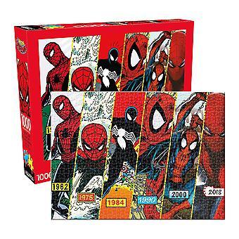 Marvel - spider-man timeline 1000pc puzzle