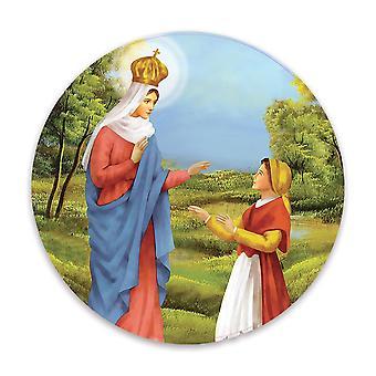 هدية ملصقا: سيدة كارافاجيو الكاثوليكية