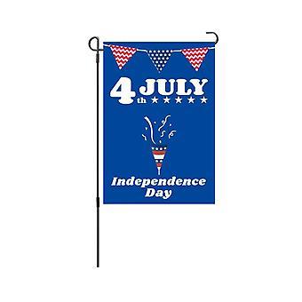 American garden flag independence national day garden decoration banner