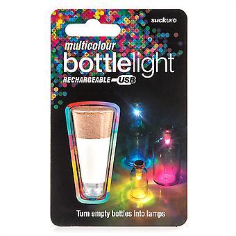 Wokex Official Rechargeable USB LED Bottle Light / Aufladbares USB LED Flaschen-Licht –