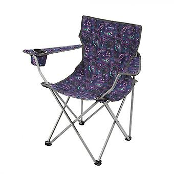 Isla Lightweight Folding Camping Chair with Storage Bag
