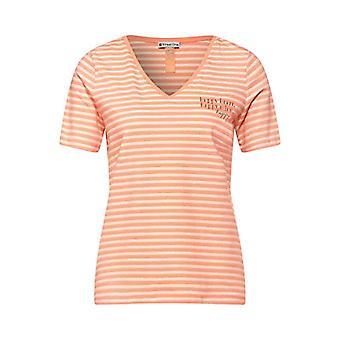 Street One 315903 T-Shirt, Strong Mandarin, 50 Woman