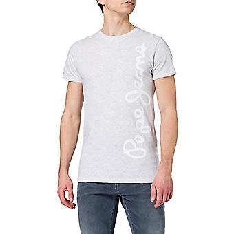 Pepe Jeans Waldo Lyhyt T-paita, 913light Harmaa Marl, 18 Miesten