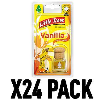Vanilla (Pack Of 24) Little Trees Bottle Air Freshener