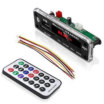 Wireless Bluetooth Mp3, Wma Decoder Board, Audio Module, Support Usb, Fm Module