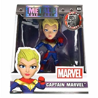 Kapten Marvel 4 tum Diecast Figur Jada M350