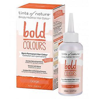 Tints of Nature Semi-Permanent Hair Color, Bold Orange 2.46 Oz