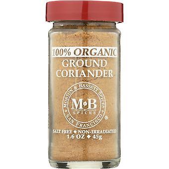 Morton & Bassett Coriander Ground Org, Case of 3 X 1.6 Oz