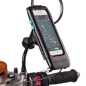 Iphone se 2 moto accessoire crossbar kit de montage étanche cas