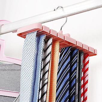 Storage Rack Tie Belt Organizer Space Saver Tops Bra Bag Hanger Holder Rack