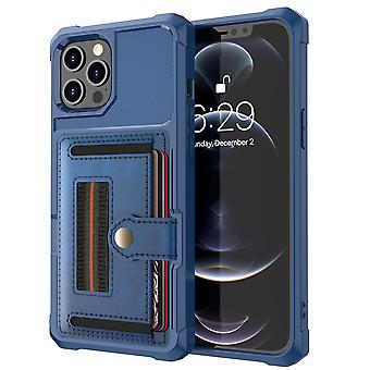 Iphone 12 12pro 11 11pro Cover With Card Holder Multi-function Anti-fall Case
