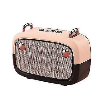 Portable Wireless Subwoofer(Pink)