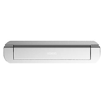 Slim Laptop Stand in Aluminum - Silver