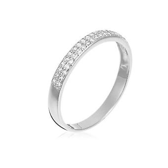 Ring Alliance 'White Accuracy' White Gold