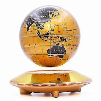 Globe de lévitation magnétique avec des lumières dégradées colorées
