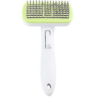 New Style Pet Cleaning Comb Bathing Massage Combing Brush(Green)