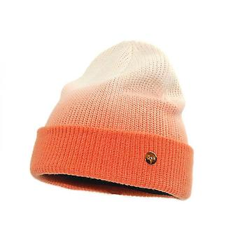 Soft Feel Gradient Color Knitted Winter Beanie Hat