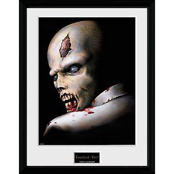 Resident Evil Zombie Collector Print